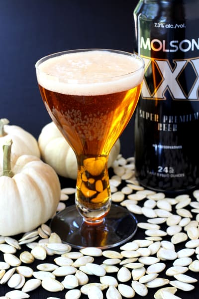 Pumpkin Beer Cocktail Image
