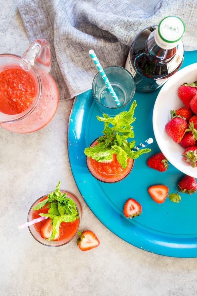 Strawberry Pimm's Slush Image
