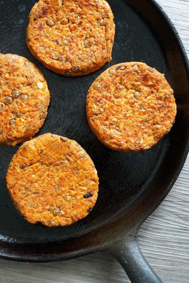 Lentil Burger Picture