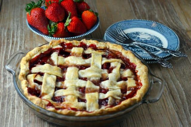 Baked Strawberry Pie Recipe