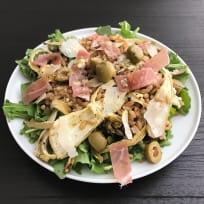 Warm Farro Salad With Fennel, Arugula, Prosciutto, and Pecorino