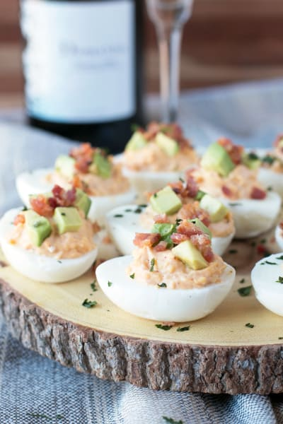 Chipotle Bacon Deviled Eggs Picture