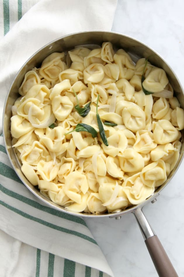 Tortellini with Butter and Sage Picture