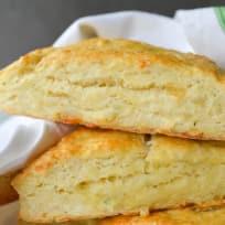 Garlic Herb and Cheddar Scones Recipe