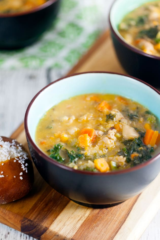 Sausage and Kale Soup Image