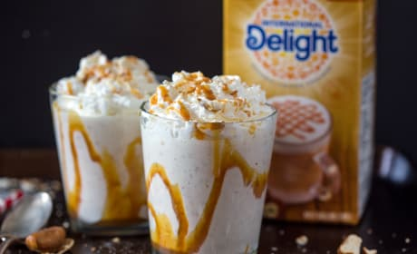 Caramel Macchiato Pretzel Milkshake Recipe