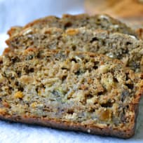 Healthy Peach Banana Bread Recipe