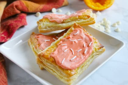 Orange Creamsicle Poptarts