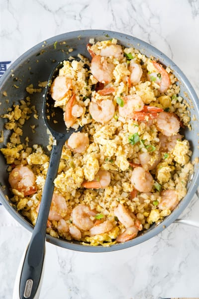 Shrimp Fried Cauliflower Rice Picture