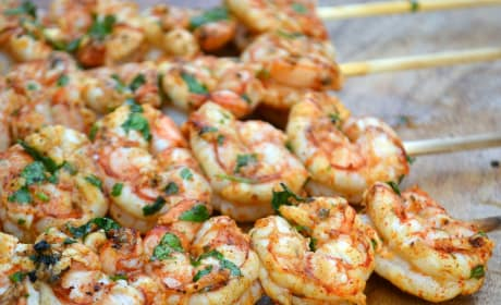 Cilantro Lime Grilled Shrimp Image