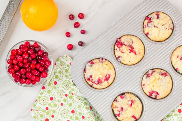 Cranberry Orange Muffins Photo