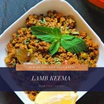 Lamb Keema - Mutton Keema