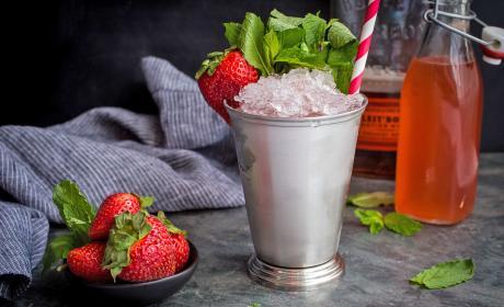 Strawberry Rhubarb Julep