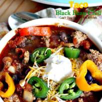 Taco Black Bean Chili