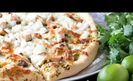 How to Make Cilantro Lime Chicken Pizza
