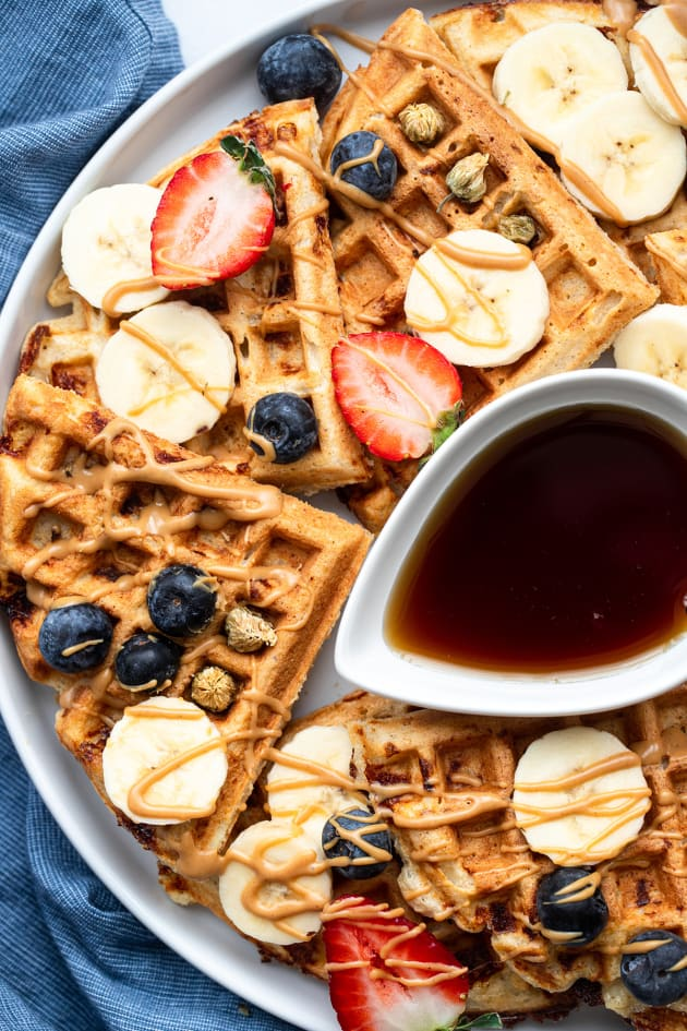 Protein Waffles Picture