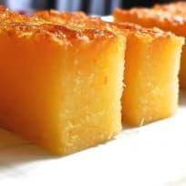 Baked Tapioca Cake (Kuih Bingka Ubi)