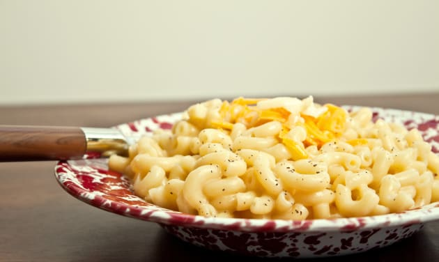 Stovetop Mac and Cheese Photo