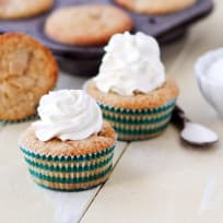 Peach Cobbler Cupcakes Recipe