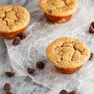 Peanut butter banana blender muffins photo