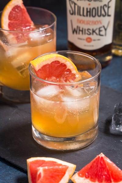 Grapefruit Whiskey Sour Image
