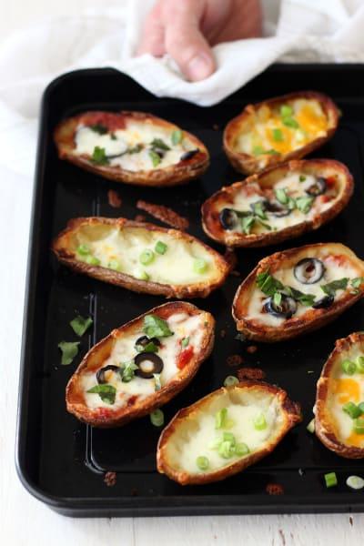 Toaster Oven Potato Skins Pic