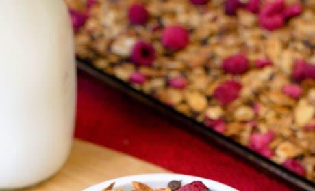 Raspberry Chocolate Chip Granola Pic