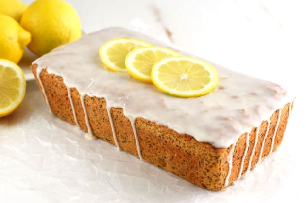 Gluten Free Lemon Poppyseed Bread Photo