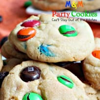 M & M Party Cookies