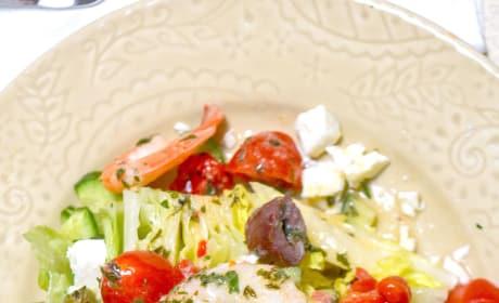 Mediterranean Shrimp Wedge Salad Picture