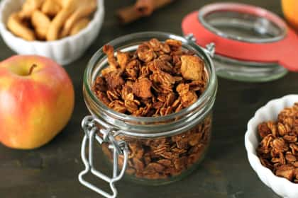 Gluten Free Granola: Loaded with Fall Flavors