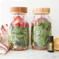 Spinach Salad In A Jar