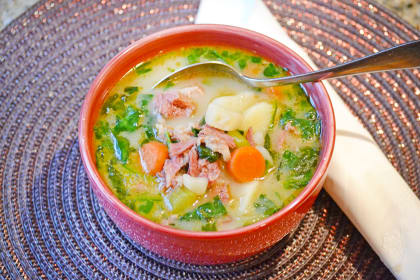 Ham Potato Soup