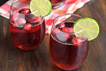 Cranberry Ginger Ale Punch