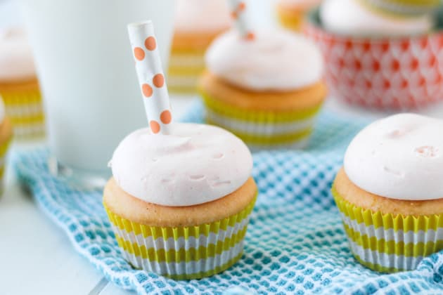 Orange Creamsicle Cupcakes Photo