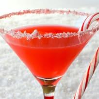 Candy Cane Martini Recipe