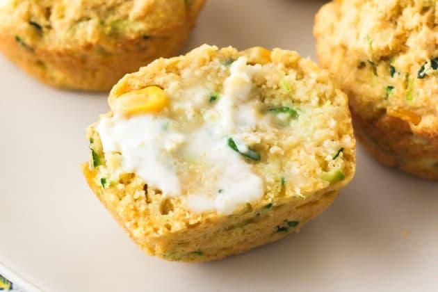 Zucchini Cornbread Muffins Image