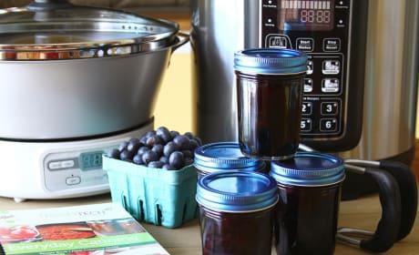Blueberry Lemon Jam Photo
