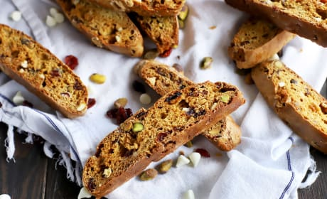 Cranberry Pistachio Avocado Biscotti Photo