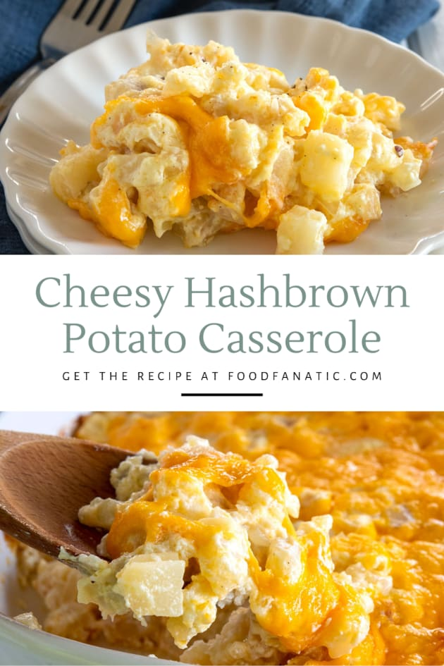 Cheesy Hashbrown Potato Casserole Recipe Photo