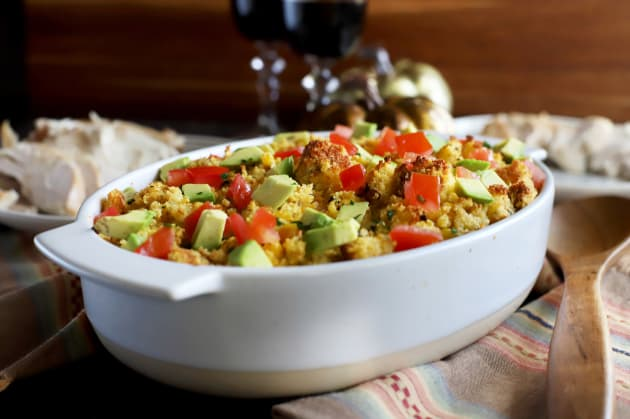 Green Chile Cornbread Stuffing Photo