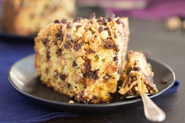 Chocolate Peanut Butter Coffee Cake Pic