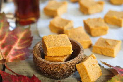 Paleo Pumpkin Pie Fudge