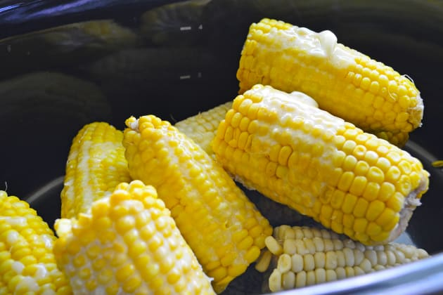 Slow Cooker Corn on the Cob Pic