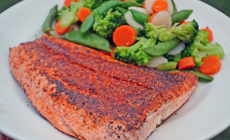 3-Ingredient Blackened Salmon Recipe
