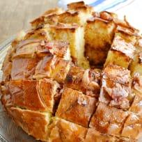 Maple Bacon Pull Apart Bread Recipe