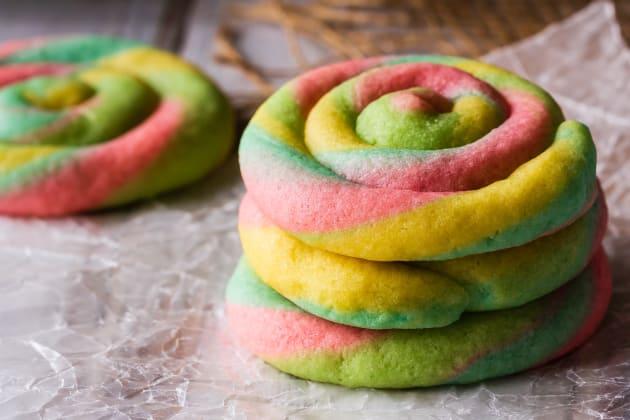 Rainbow Cream Cheese Cookies Photo