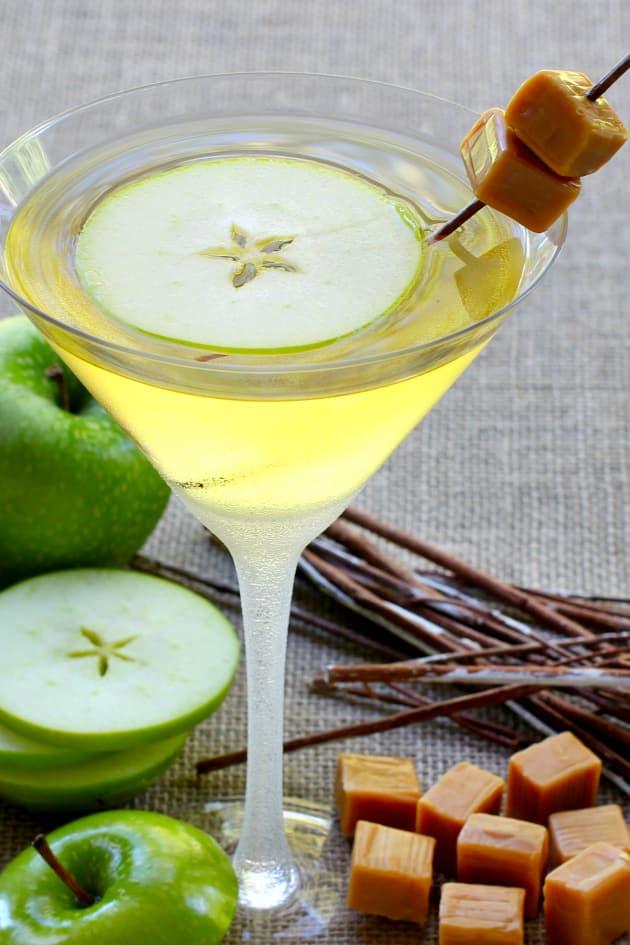 Caramel Apple Martini Picture