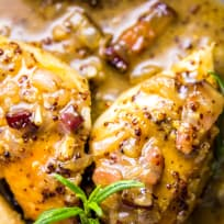 Honey Mustard Chicken with Bacon Recipe