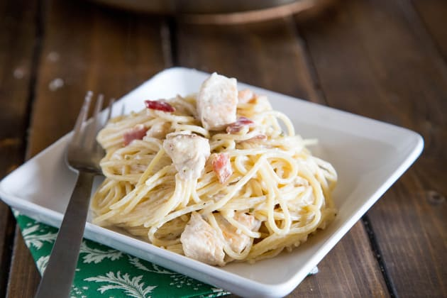 Creamy Chicken Pasta Photo